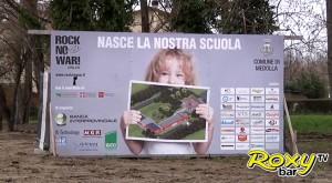 Rock No War: inaugurazione polo scolastico di Medolla dopo la distruzione del terremoto in Emilia Romagna